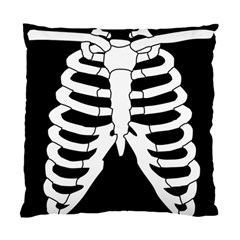 X Ray Standard Cushion Case (one Side) by Valentinaart
