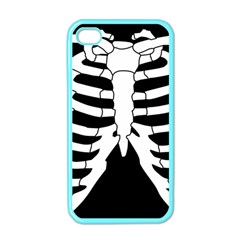 X Ray Apple Iphone 4 Case (color) by Valentinaart