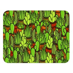 Cactus Double Sided Flano Blanket (large)