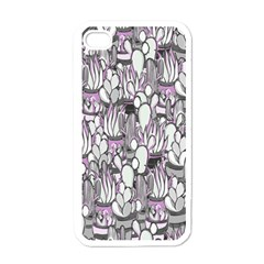 Cactus Apple Iphone 4 Case (white) by Valentinaart