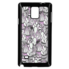 Cactus Samsung Galaxy Note 4 Case (black) by Valentinaart