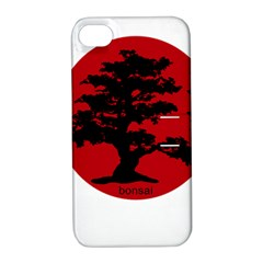 Bonsai Apple Iphone 4/4s Hardshell Case With Stand by Valentinaart