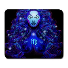 Sign Virgo Zodiac Large Mousepads by Mariart