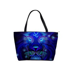Sign Leo Zodiac Shoulder Handbags by Mariart