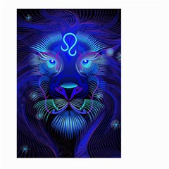 Sign Leo Zodiac Large Garden Flag (two Sides) by Mariart
