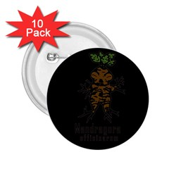 Mandrake Plant 2 25  Buttons (10 Pack)  by Valentinaart