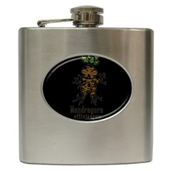 Mandrake Plant Hip Flask (6 Oz) by Valentinaart