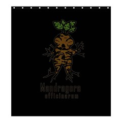 Mandrake Plant Shower Curtain 66  X 72  (large)  by Valentinaart
