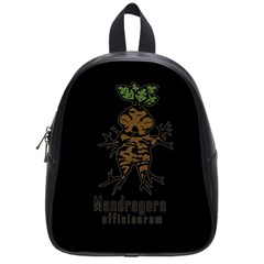 Mandrake Plant School Bags (small)  by Valentinaart