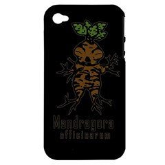Mandrake Plant Apple Iphone 4/4s Hardshell Case (pc+silicone)