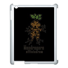 Mandrake Plant Apple Ipad 3/4 Case (white)