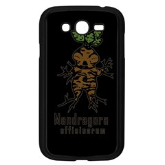 Mandrake Plant Samsung Galaxy Grand Duos I9082 Case (black) by Valentinaart