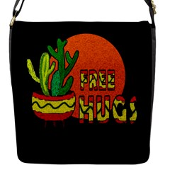 Cactus   Free Hugs Flap Messenger Bag (s)