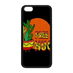 Cactus   Free Hugs Apple Iphone 5c Seamless Case (black) by Valentinaart