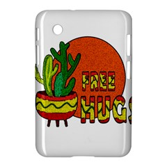 Cactus   Free Hugs Samsung Galaxy Tab 2 (7 ) P3100 Hardshell Case  by Valentinaart