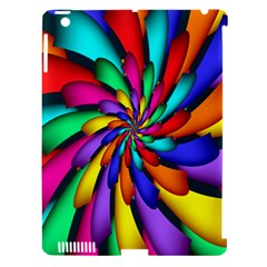 Star Flower Color Rainbow Apple Ipad 3/4 Hardshell Case (compatible With Smart Cover) by Mariart