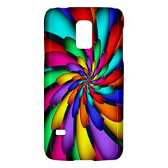 Star Flower Color Rainbow Galaxy S5 Mini by Mariart