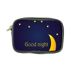 Star Moon Good Night Blue Sky Yellow Light Coin Purse by Mariart