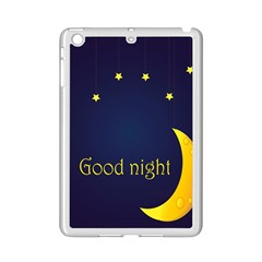 Star Moon Good Night Blue Sky Yellow Light Ipad Mini 2 Enamel Coated Cases by Mariart