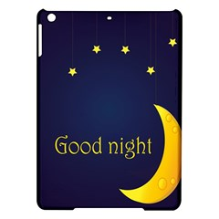 Star Moon Good Night Blue Sky Yellow Light Ipad Air Hardshell Cases