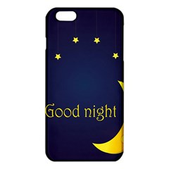 Star Moon Good Night Blue Sky Yellow Light Iphone 6 Plus/6s Plus Tpu Case by Mariart