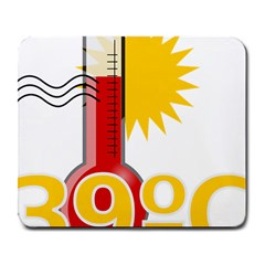 Thermometer Themperature Hot Sun Large Mousepads by Mariart