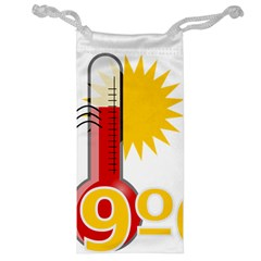 Thermometer Themperature Hot Sun Jewelry Bag by Mariart