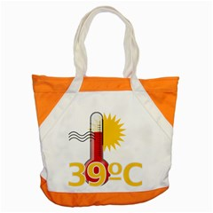 Thermometer Themperature Hot Sun Accent Tote Bag by Mariart