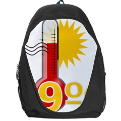 Thermometer Themperature Hot Sun Backpack Bag by Mariart