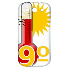 Thermometer Themperature Hot Sun Samsung Galaxy S3 S Iii Classic Hardshell Back Case by Mariart