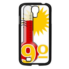 Thermometer Themperature Hot Sun Samsung Galaxy S4 I9500/ I9505 Case (black) by Mariart