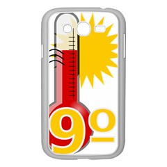 Thermometer Themperature Hot Sun Samsung Galaxy Grand Duos I9082 Case (white) by Mariart