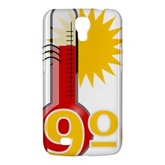 Thermometer Themperature Hot Sun Samsung Galaxy Mega 6 3  I9200 Hardshell Case by Mariart