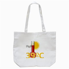 Thermometer Themperature Hot Sun Tote Bag (white) by Mariart
