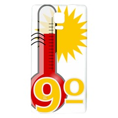 Thermometer Themperature Hot Sun Galaxy Note 4 Back Case by Mariart