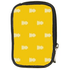 Waveform Disco Wahlin Retina White Yellow Compact Camera Cases by Mariart