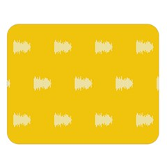 Waveform Disco Wahlin Retina White Yellow Double Sided Flano Blanket (large)  by Mariart