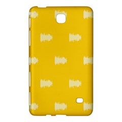 Waveform Disco Wahlin Retina White Yellow Samsung Galaxy Tab 4 (8 ) Hardshell Case  by Mariart