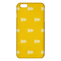 Waveform Disco Wahlin Retina White Yellow Iphone 6 Plus/6s Plus Tpu Case by Mariart