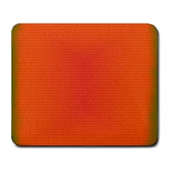 Scarlet Pimpernel Writing Orange Green Large Mousepads by Mariart