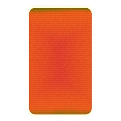 Scarlet Pimpernel Writing Orange Green Memory Card Reader by Mariart