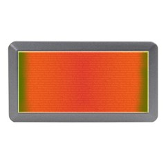 Scarlet Pimpernel Writing Orange Green Memory Card Reader (mini) by Mariart
