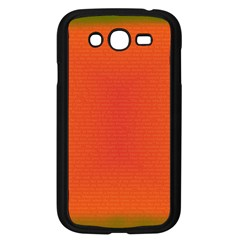 Scarlet Pimpernel Writing Orange Green Samsung Galaxy Grand Duos I9082 Case (black) by Mariart