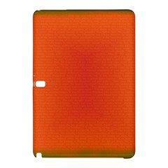 Scarlet Pimpernel Writing Orange Green Samsung Galaxy Tab Pro 10 1 Hardshell Case by Mariart