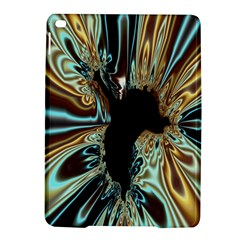 Silver Gold Hole Black Space Ipad Air 2 Hardshell Cases by Mariart
