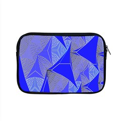 Wave Chevron Plaid Circle Polka Line Light Blue Triangle Apple Macbook Pro 15  Zipper Case by Mariart