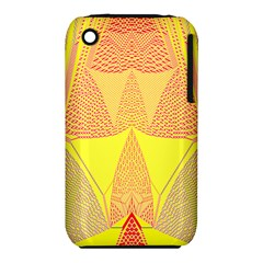Wave Chevron Plaid Circle Polka Line Light Yellow Red Blue Triangle Iphone 3s/3gs by Mariart