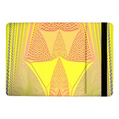 Wave Chevron Plaid Circle Polka Line Light Yellow Red Blue Triangle Samsung Galaxy Tab Pro 10 1  Flip Case by Mariart