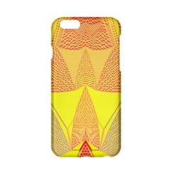 Wave Chevron Plaid Circle Polka Line Light Yellow Red Blue Triangle Apple Iphone 6/6s Hardshell Case by Mariart