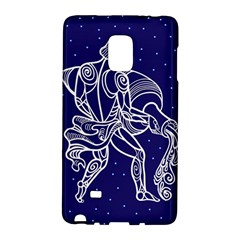 Aquarius Zodiac Star Galaxy Note Edge by Mariart